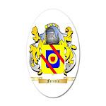 Ferrera 20x12 Oval Wall Decal