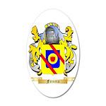 Ferrera 35x21 Oval Wall Decal