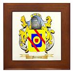 Ferrera Framed Tile