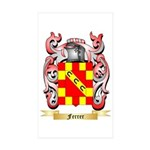 Ferrer Sticker (Rectangle 50 pk)