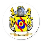 Ferreira Round Car Magnet