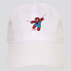 8 Bit Spiderman Cap