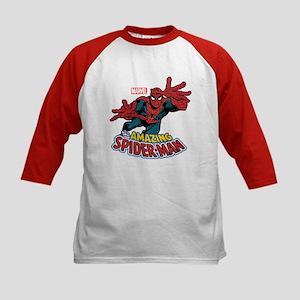 The Amazing Spiderman Kids Baseball Jersey