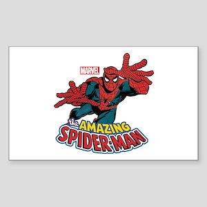 The Amazing Spiderman Sticker (Rectangle)