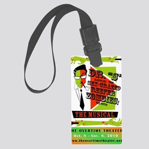 Dr. S Poster Large Luggage Tag