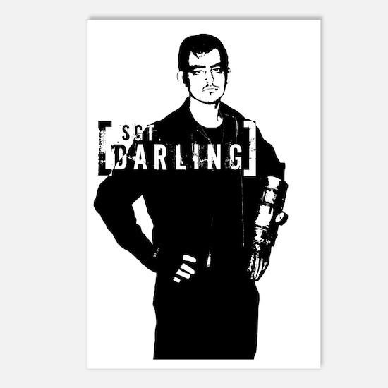 Darling Postcards (Package of 8)