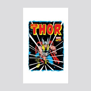 The Mighty Thor Sticker (Rectangle)