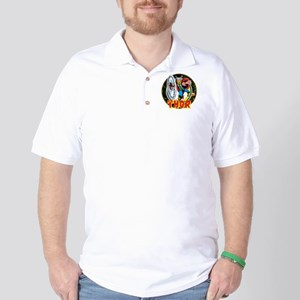 The Mighty Thor Hammer Golf Shirt