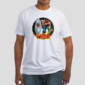 The Mighty Thor Hammer Fitted T-Shirt