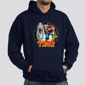 The Mighty Thor Hammer Hoodie (dark)