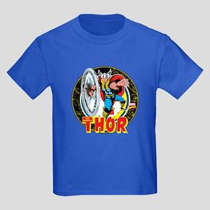 The Mighty Thor Hammer Kids Dark T-Shirt