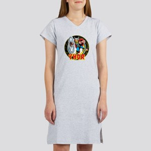 The Mighty Thor Hammer Women's Nightshirt