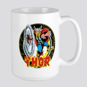 The Mighty Thor Hammer Large Mug