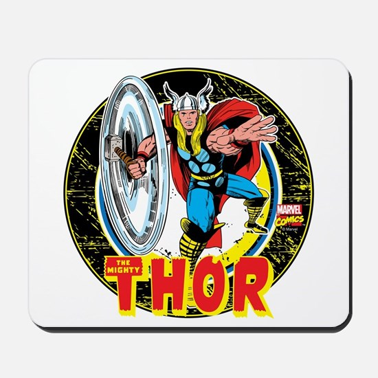 The Mighty Thor Hammer Mousepad