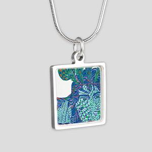 krishna Silver Square Necklace