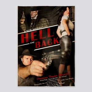Hell and Back 5'x7'Area Rug