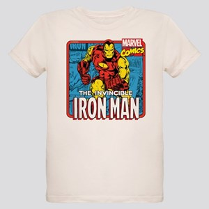 The Invincible Iron Man Organic Kids T-Shirt