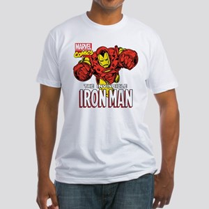 The Invincible Iron Man 2 Fitted T-Shirt