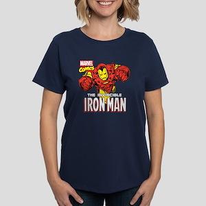 The Invincible Iron Man 2 Women's Dark T-Shirt