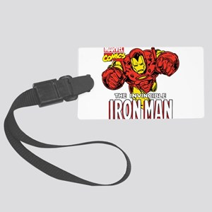 The Invincible Iron Man 2 Large Luggage Tag