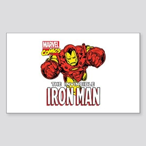 The Invincible Iron Man 2 Sticker (Rectangle)