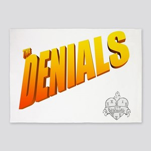 The Denials 5'x7'Area Rug