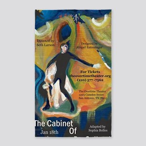 The Cabinet of Dr. Caligari 3'x5' Area Rug