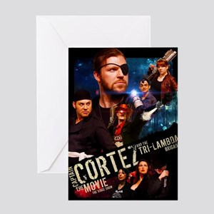 Captain Cortez the Movie Greeting Card