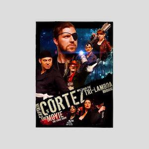 Captain Cortez the Movie 5'x7'Area Rug
