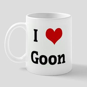 I Love Goon Mug