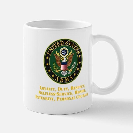 U.S. Army Values Mugs