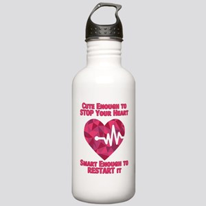 Cute Enough to Stop Yo Stainless Water Bottle 1.0L