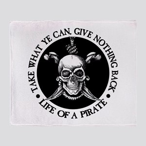(Pirate) Take What Ye Can Throw Blanket
