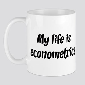 Life is econometrics Mug