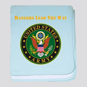 Army Rangers Lead The Way baby blanket