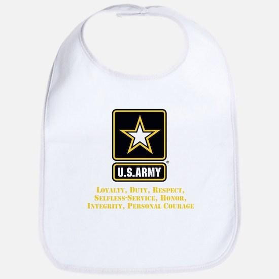 U.S. Army Values Bib