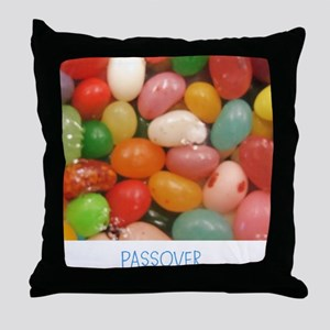 PASSOVER JELLY BEANS. Throw Pillow