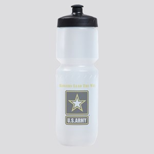 Army Rangers Lead The Way Sports Bottle