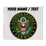 Army logo Fleece Blankets