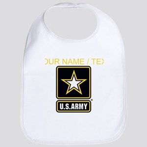 Custom U.S. Army Gold Star Logo Bib