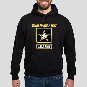 Custom U.S. Army Gold Star Logo Hoodie