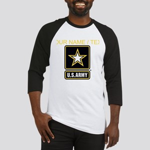 Custom U.S. Army Gold Star Logo Baseball Jersey