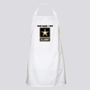 Custom U.S. Army Gold Star Logo Apron