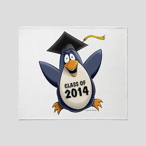 Class of 2014 Penguin Throw Blanket
