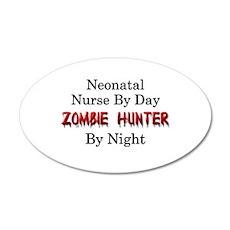 Neonatal Nurse/Zombie Hunter Wall Decal