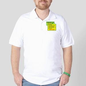 Golfers Wheres My List Golf Shirt