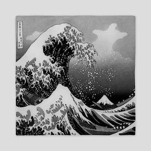 Japanese Wave Queen Duvet