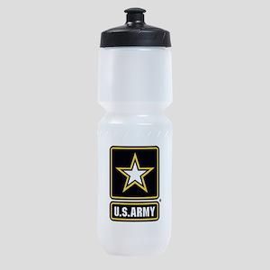 U.S. Army Gold Star Logo Sports Bottle