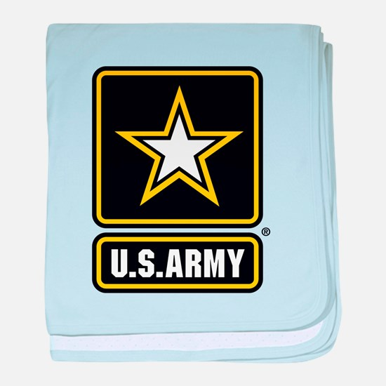 U.S. Army Gold Star Logo baby blanket
