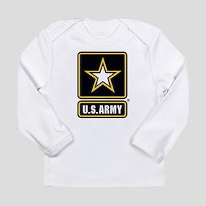 U.S. Army Gold Star Logo Long Sleeve T-Shirt